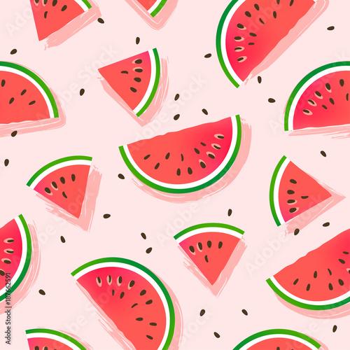 Watermelons pattern. Seamle...