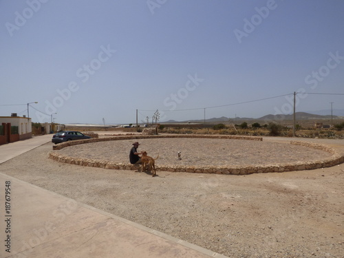 Los Albaricoques en Almeria (Andalucia,España),localidad de Níjar junto a Cabo d Tapéta, Fotótapéta