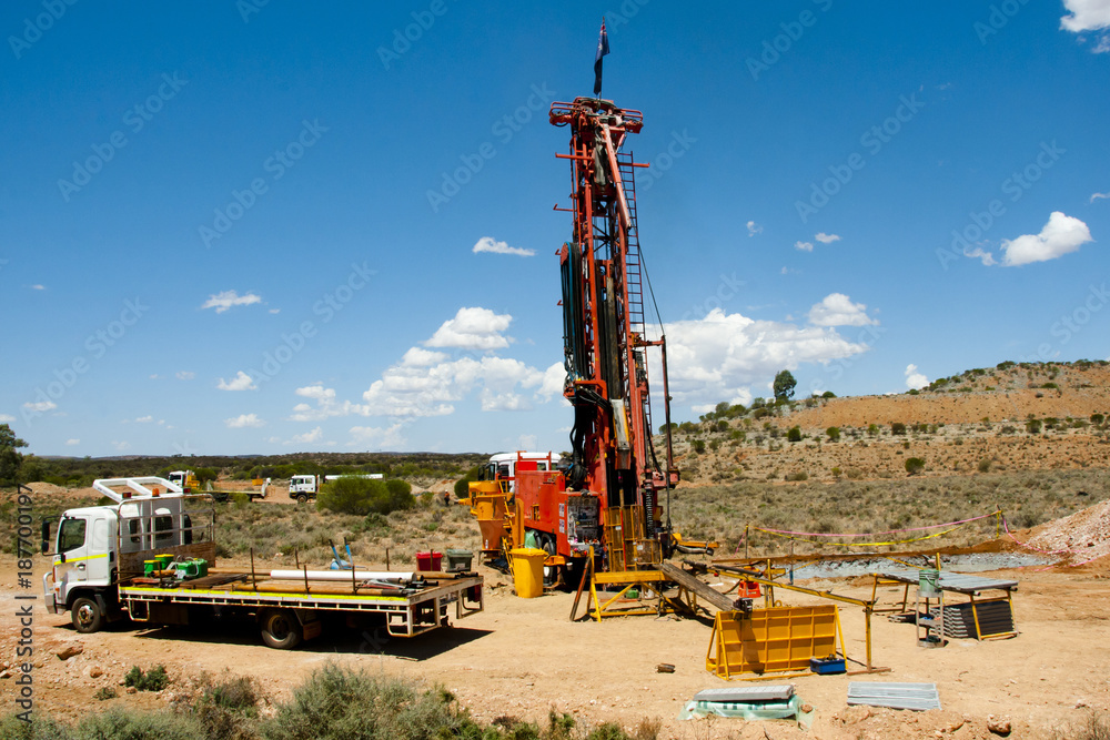 Fototapety, obrazy: Core Drilling for Exploration