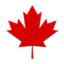 Czerwony Liść Symbol Kanady