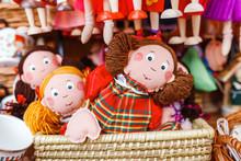 Rag Dolls Toys Handmade Souven...