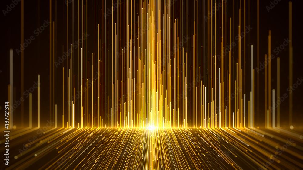 Fototapety, obrazy: Gold Awards Background.
