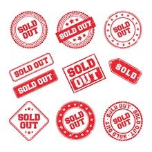 Sold Out Logo Badge