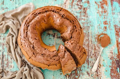 Fototapeta Ciambellone al cioccolato