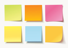 Set Of Different Colored Sheet...