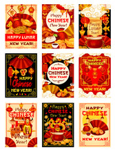 Chinese New Year Vector Tradit...