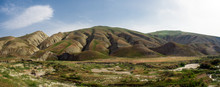 Hilly Mountains In The Valley,...