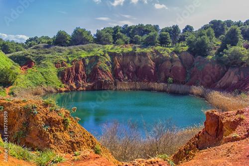 Photo Salento: Otranto, bauxite quarry