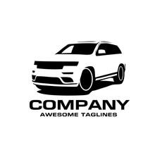 Vector Car Silhouette Logo, Si...