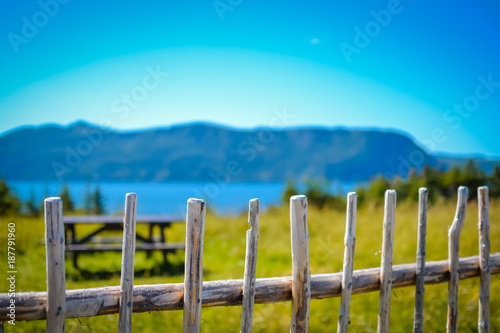 Slika na platnu NEWFOUNDLAND / CANADA - AUGUST 2014: SUMMER AT NEWFOUNDLAND