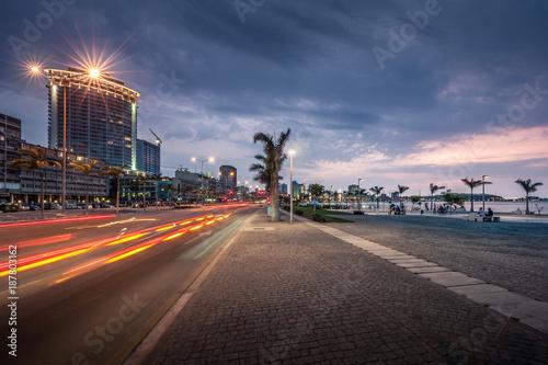 Baía de Luanda, cidade capital de Angola
