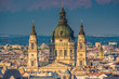 St. Stephen's Basilica, Budapest, Hungary. Named after the first King of Hungary. Co-cathedral of Budapest.