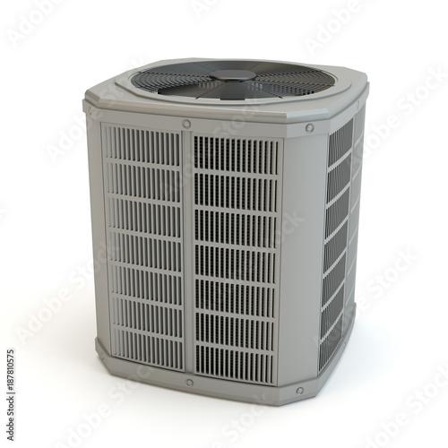 Air heat pump - No.2 Canvas Print