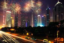 Beautiful Night Shanghai's Cit...