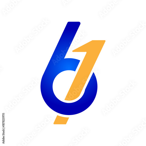 Fotografia  61 Symbols Anniversary Design