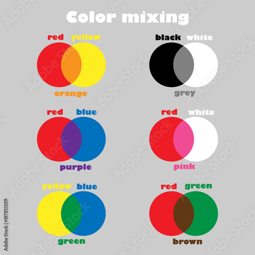 learning colors mixing for children fun education game for kids