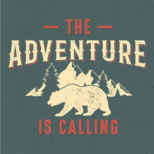 The Adventure Is Calling - Tee...