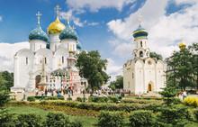 Church In Sergiyev Posad Monas...