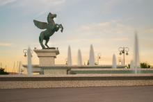 Pegasus Statue In Corinth In G...