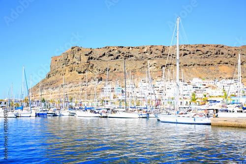 Puerto de Mogán on Gran Canaria Island, Canary Islands, Spain