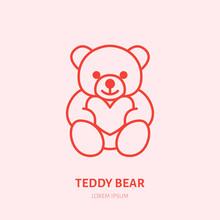 Teddy Bear Illustration. Plush...
