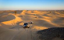 Safari Tour Through Desert