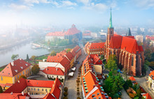 Wroclaw City In Poland Top Vie...