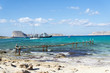 Views of the Bay of Balos, the confluence of three seas.