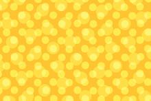 Pop Art Yellow Background Polka Dot