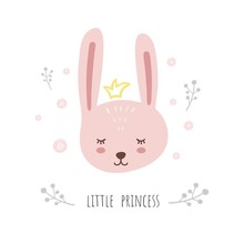 Little Princess. Cute Bunny, S...