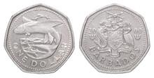 Barbados Dollar Coin