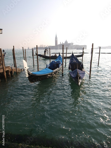 Foto op Aluminium Gondolas Venice Gondolas