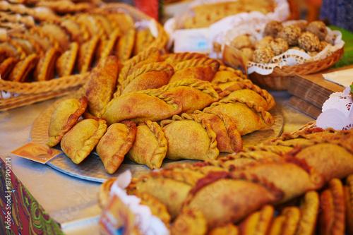 Pies on Easter fair in Vilnius