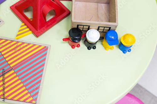 amusement, childhood, games concept Canvas Print