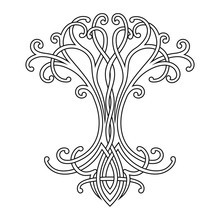 Vector Celtic National Drawing...