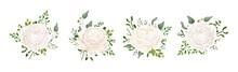 Vector Floral Bouquet Design: ...