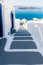 Santorini - Greece. Traditiona...