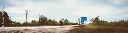 Fotomural Louisiana Staatsgrenze
