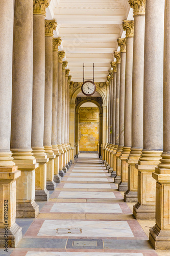 Photo Mill Colonnade - Karlovy Vary, Czech Republic