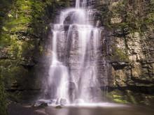 Swallet Waterfall In Peak Dist...