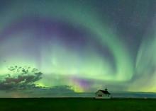 Northern Lights And Aurora Bor...