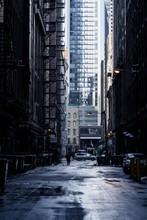 Wet Winter Alley