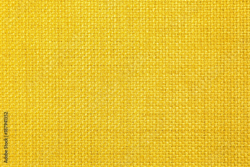 Fototapeta yellow color fabric texture background obraz