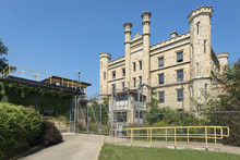 Gothic Style Old Penitentiary In Illinois