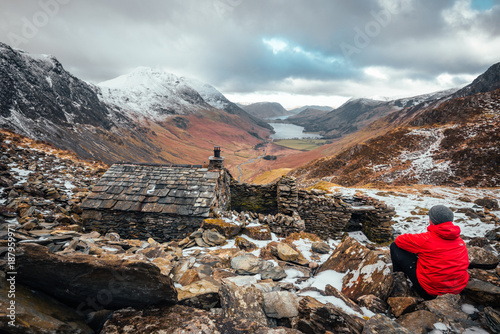 Warnscale Bothy Canvas Print