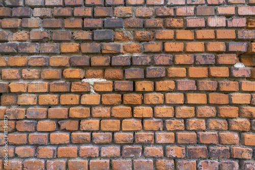 Poster Baksteen muur Backsteinwand