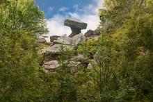 Druids Writing Desk At Brimham Rocks