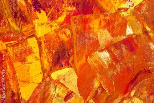 Hintergrund In Braun Rot Gold Gelb Orange Pink Textur Leinwand