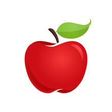 Apple Icon Isolated Vector Ill...