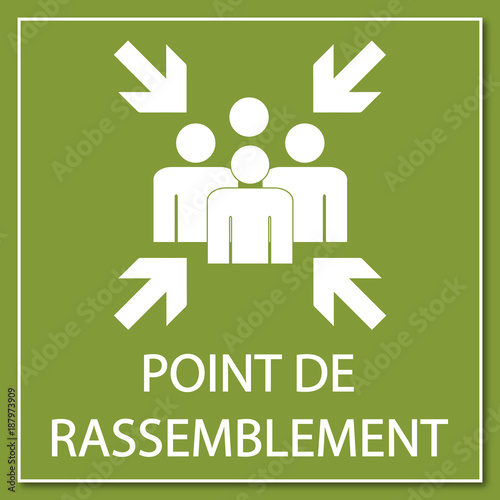 Photo Logo point de rassemblement.